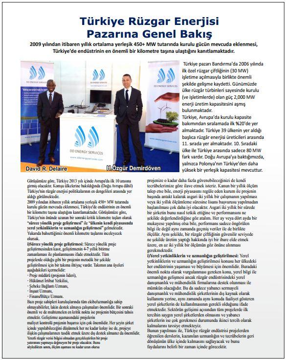 Faal Enerji Dergisi - Haziran 2013
